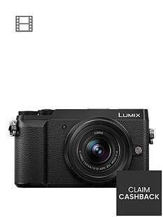 panasonic-lumix-dmc-gx80nbspcompact-system-camera-12-32mmnbsplens-4k-ultra-hd-16mp-4x-digital-zoom-wi-fi-3-inchnbsplcdnbsptouchscreennbspfree-angle-monitor-black-pound50-cash-back-available
