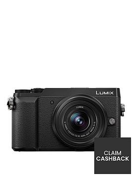 panasonic-lumix-dmc-gx80nbspcompact-system-camera-12-32mmnbsplens-4k-ultra-hd-16mp-4x-digital-zoom-wi-fi-3-inchnbsplcdnbsptouchscreennbspfree-angle-monitor-black-pound50-cash-back-available