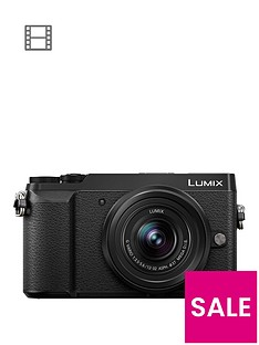panasonic-lumix-dmc-gx80nbspcompact-system-camera-12-32mmnbsplens-4k-ultra-hd-16mp-4x-digital-zoom-wi-fi-3-inchnbsplcdnbsptouchscreennbspfree-angle-monitor-with-pound50-cashback