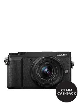 panasonic-lumix-dmc-gx80nbspcompact-system-camera-12-32mmnbsplens-4k-ultra-hd-16mp-4x-digital-zoom-wi-fi-3-inchnbsplcdnbsptouchscreennbspfree-angle-monitor