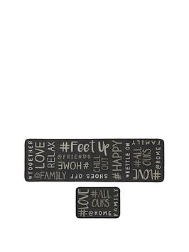 hashtag-home-runner-and-doormat-set-multi
