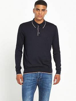 peter-werth-knitted-contrast-tipped-polo