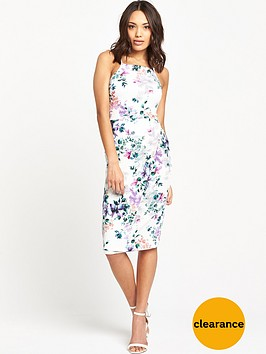 v-by-very-strappynbspfloral-printnbspbodycon-dress