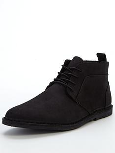river-island-nubuck-leather-chukka-boot
