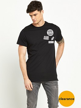 river-island-longline-badged-t-shirt