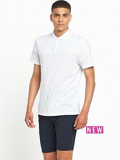 river-island-ribbed-panel-polo-shirt