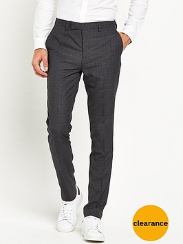 river-island-checked-skinny-fit-suit-trousers