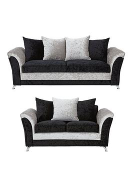 Zulu 3-Seater + 2-Seater Fabric Sofa Set (Buy And Save!)
