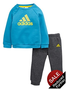 adidas-baby-boys-fleece-sweat-top-and-joggers