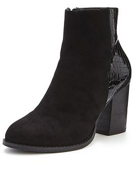 oasis-maddie-snake-patched-ankle-boot