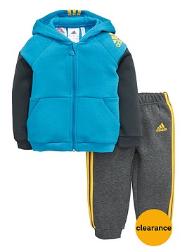 adidas-baby-boy-fleece-hooded-suit