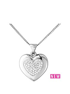 the-love-silver-collection-sterling-silver-crystal-set-and-polished-heart-pendant