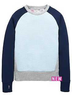 adidas-older-girls-quilt-crew-sweatshirt