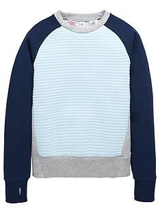 adidas-older-girls-quilted-sweatshirt