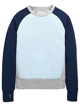 adidas-older-girls-quilted-sweatshirt