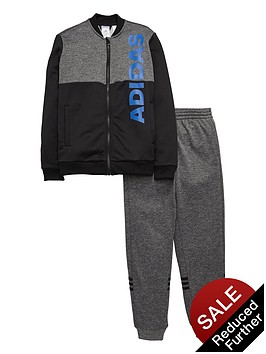 adidas-older-boys-linear-logo-tracksuit