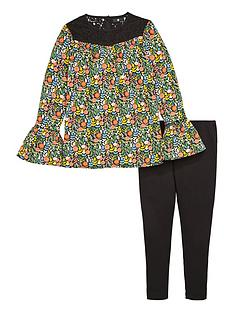 v-by-very-girls-floral-smock-top-and-leggings-set