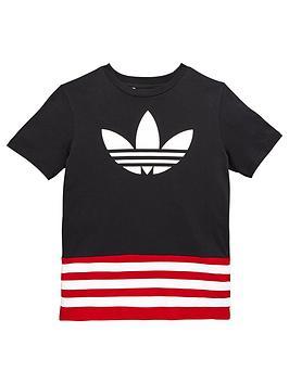 adidas-originals-adidas-originals-older-boys-stripe-trefoil-tee