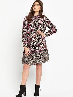 so-fabulous-animal-border-print-dress
