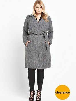v-by-very-curve-draped-tweed-belted-duster-long-line-jacket