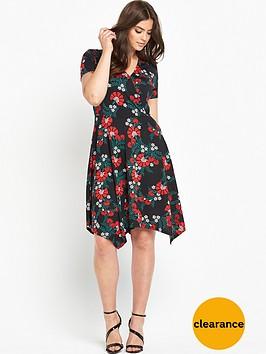 v-by-very-curve-plunge-wrap-hanky-hem-dress