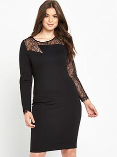 so-fabulous-zig-zag-lace-yoke-bodycon-dress-black