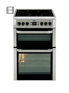 beko-bdvc667s-60cmnbspwide-electric-cooker-silver