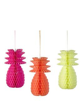 fluro-pineapple-honeycombes