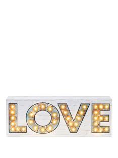 love-led-light