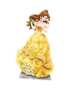 disney-princess-belle-163cm-cardboard-cutout