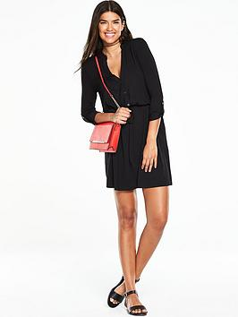 v-by-very-simple-jersey-shirt-dress-black