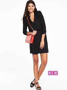 v-by-very-simple-shirt-dress-black