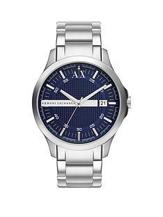 armani-exchange-blue-dial-and-stainless-steel-bracelet-mens-watchnbspbr-br