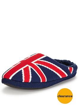 dunlop-union-jack-mule-slipper