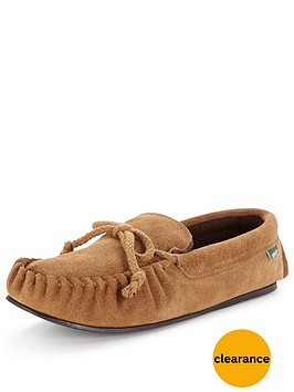 dunlop-suede-moccasin-slipper-chestnut