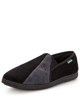 dunlop-full-slipper-black