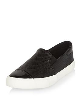 river-island-girls-plimsoll-toe-cap-shoes