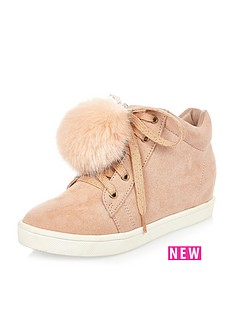 river-island-girls-high-top-pom-pomnbsptrainers