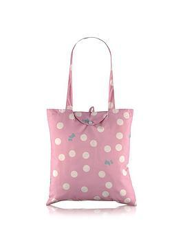 radley-polka-dog-foldaway-tote-bag