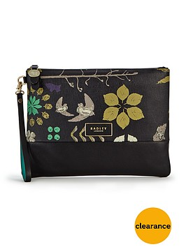radley-herbarium-clutch-bag-black