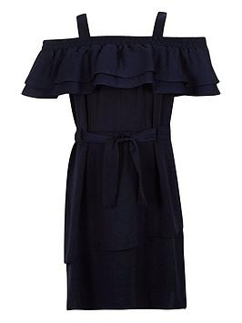 river-island-girls-frilly-bardotnbspdress