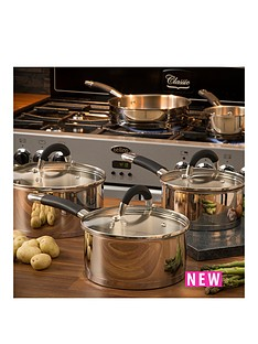 swan-5-piece-silicon-handled-pan-set-stainless-steel