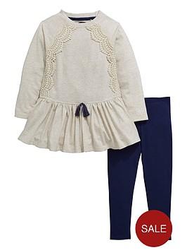 mini-v-by-very-girls-crochet-trim-tunic-and-leggings-set