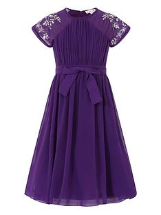 little-misdress-girls-chiffon-bow-waist-dress