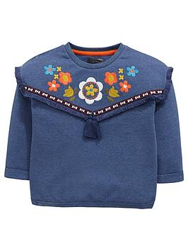 mini-v-by-very-girls-embroidered-tassel-trim-sweat-top