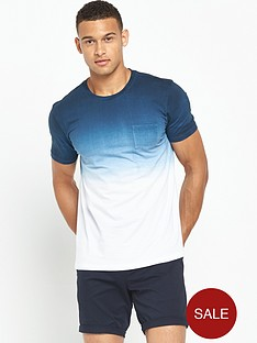 v-by-very-short-sleeve-crew-neck-ombre-t-shirt