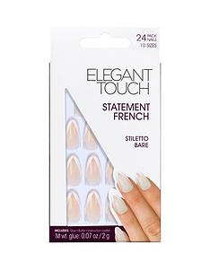 elegant-touch-statement-french-nails-stiletto-bare