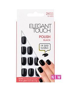 elegant-touch-polished-nails-black