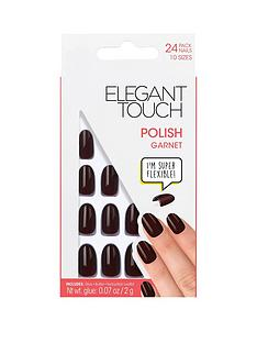 elegant-touch-polished-nails-garnet