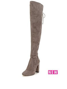 lipsy-lipsy-over-the-knee-lace-up-boot